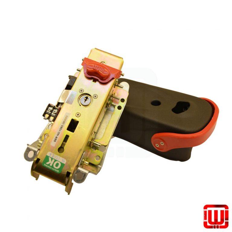 قفل برقی شستی دار یوتاب مدل UTAB 1093