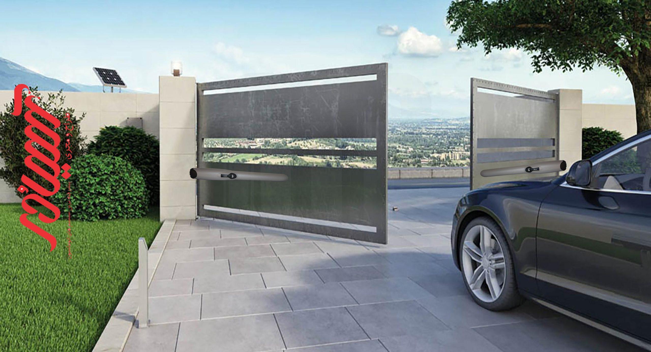 معرفی درب اتوماتیک پارکینگ نایس وینگو Wingo A60
