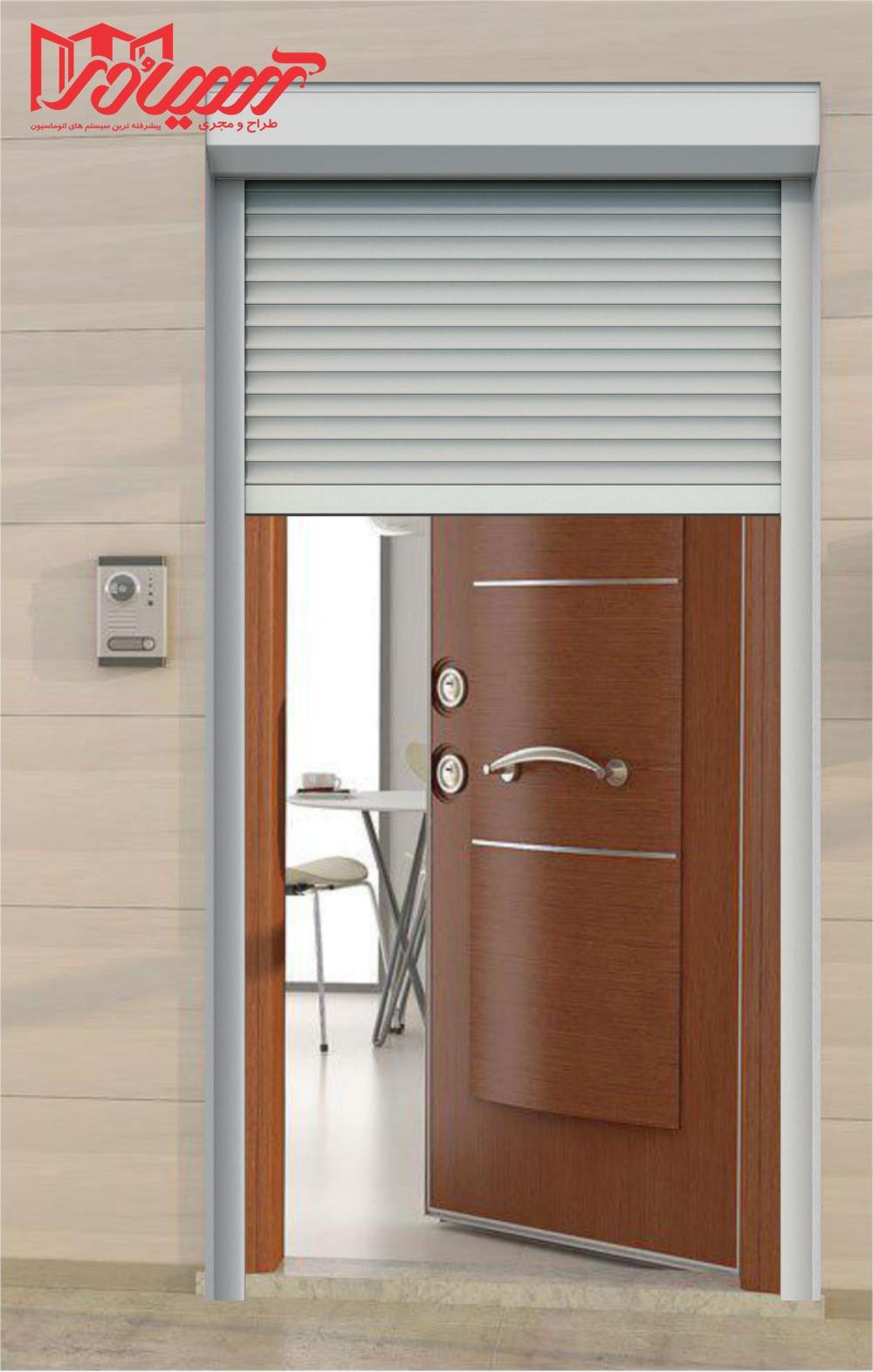 کرکره برقی درب ضد سرقت