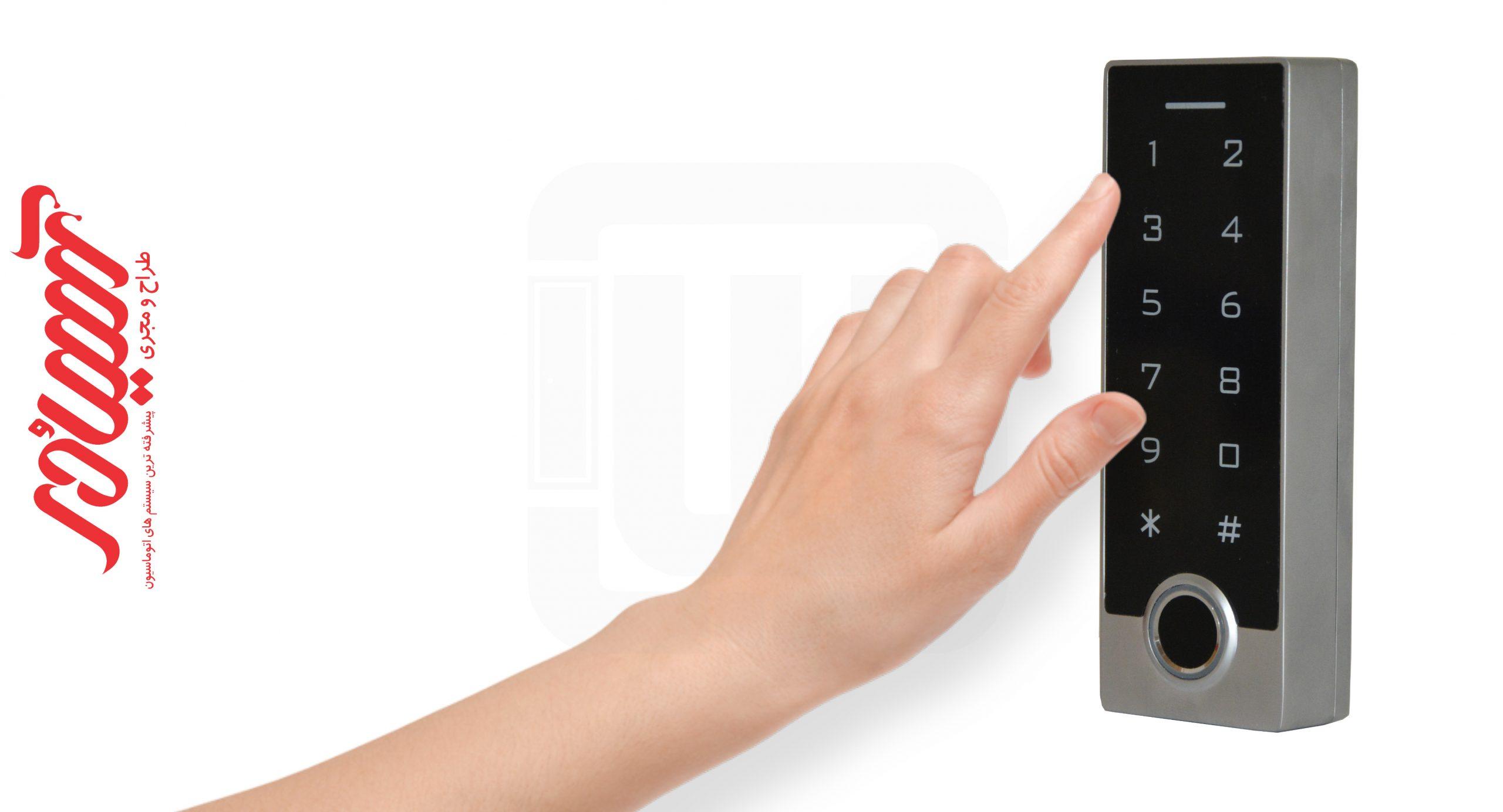 دستگاه کنترل تردد اچ ام تی اثرانگشتی HMT FK13