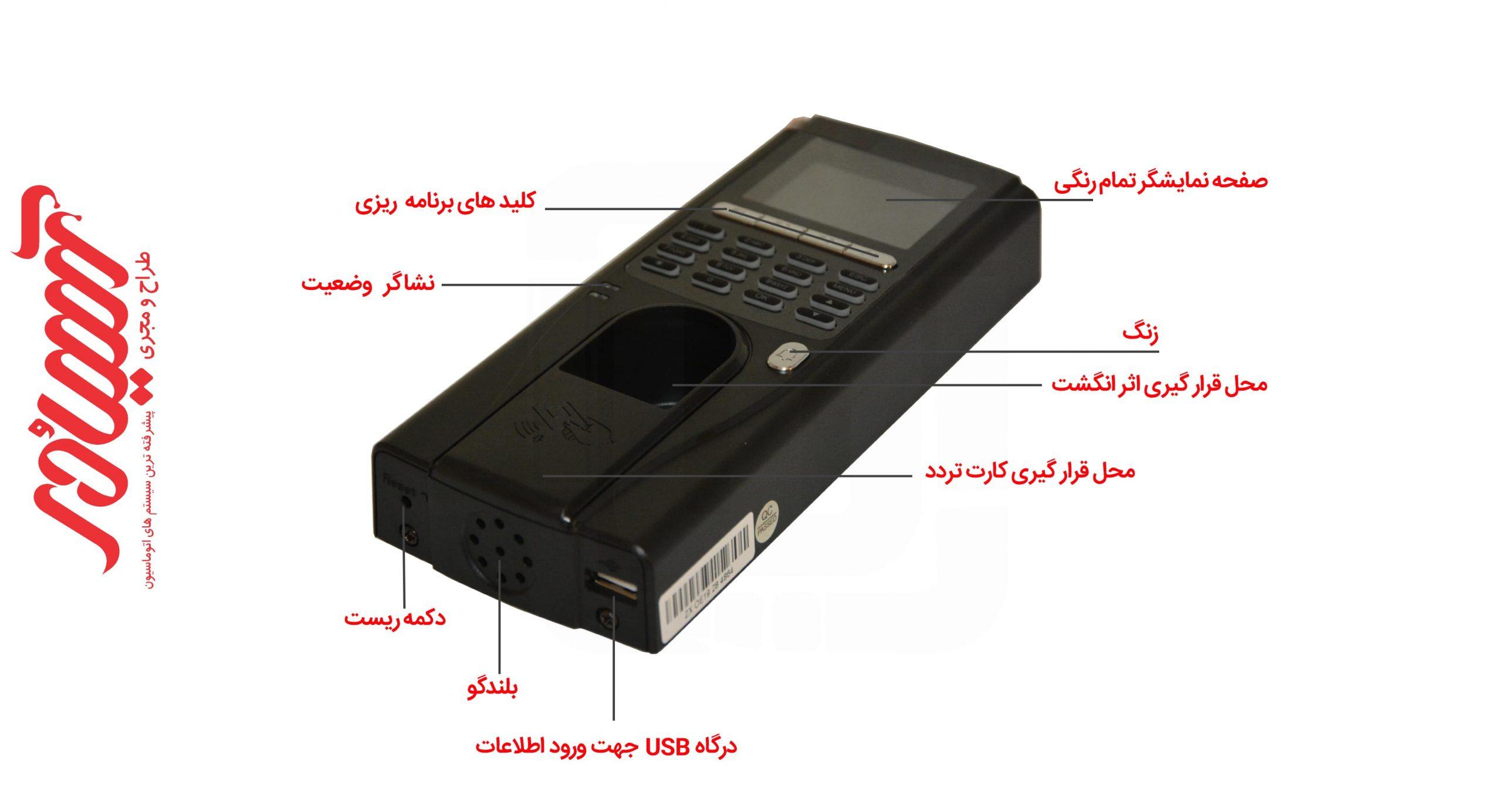 اکسس کنترل اچ ام تی FS30