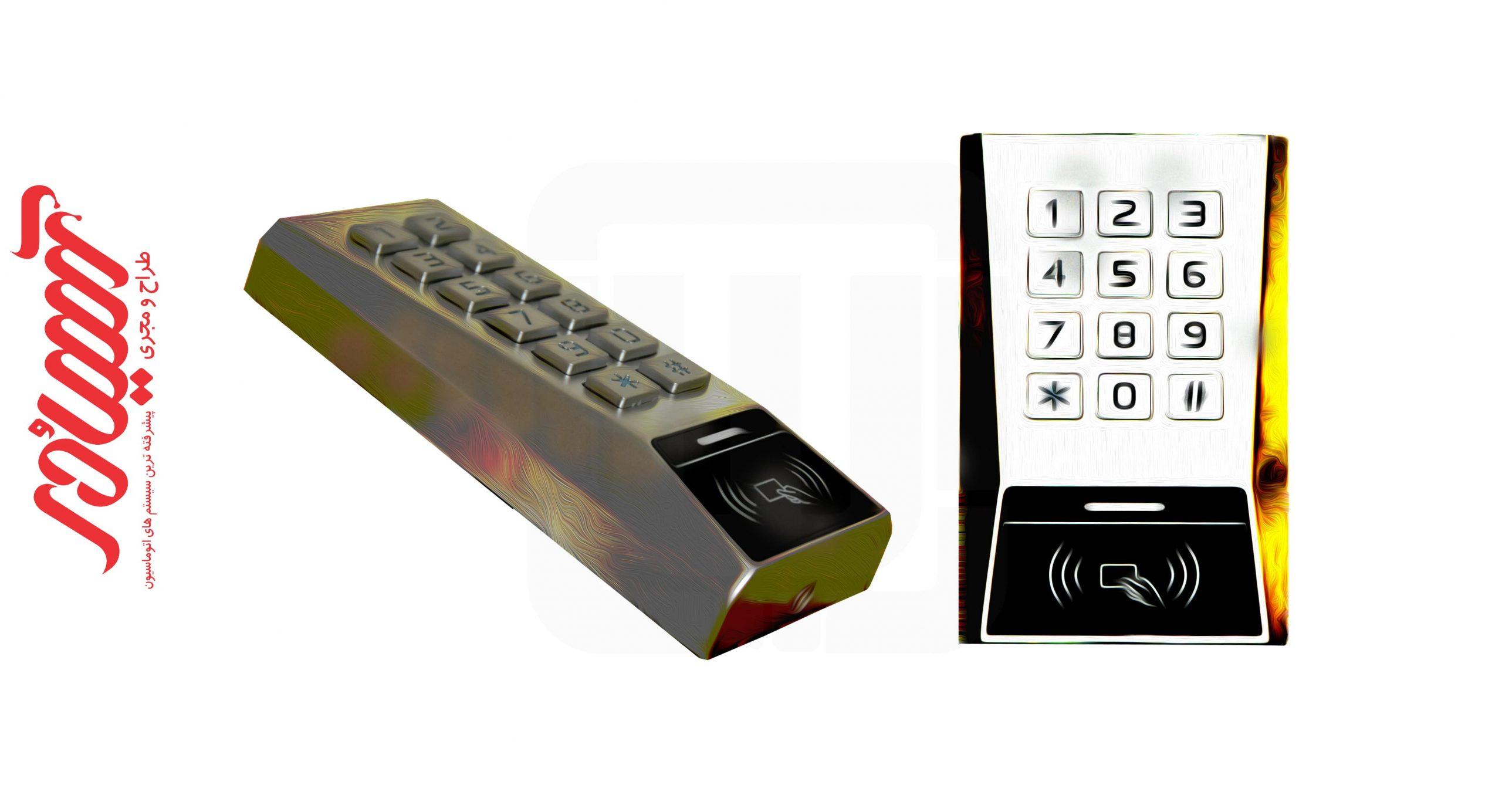 دستگاه کنترل تردد سایبن SYBONN MK100-E