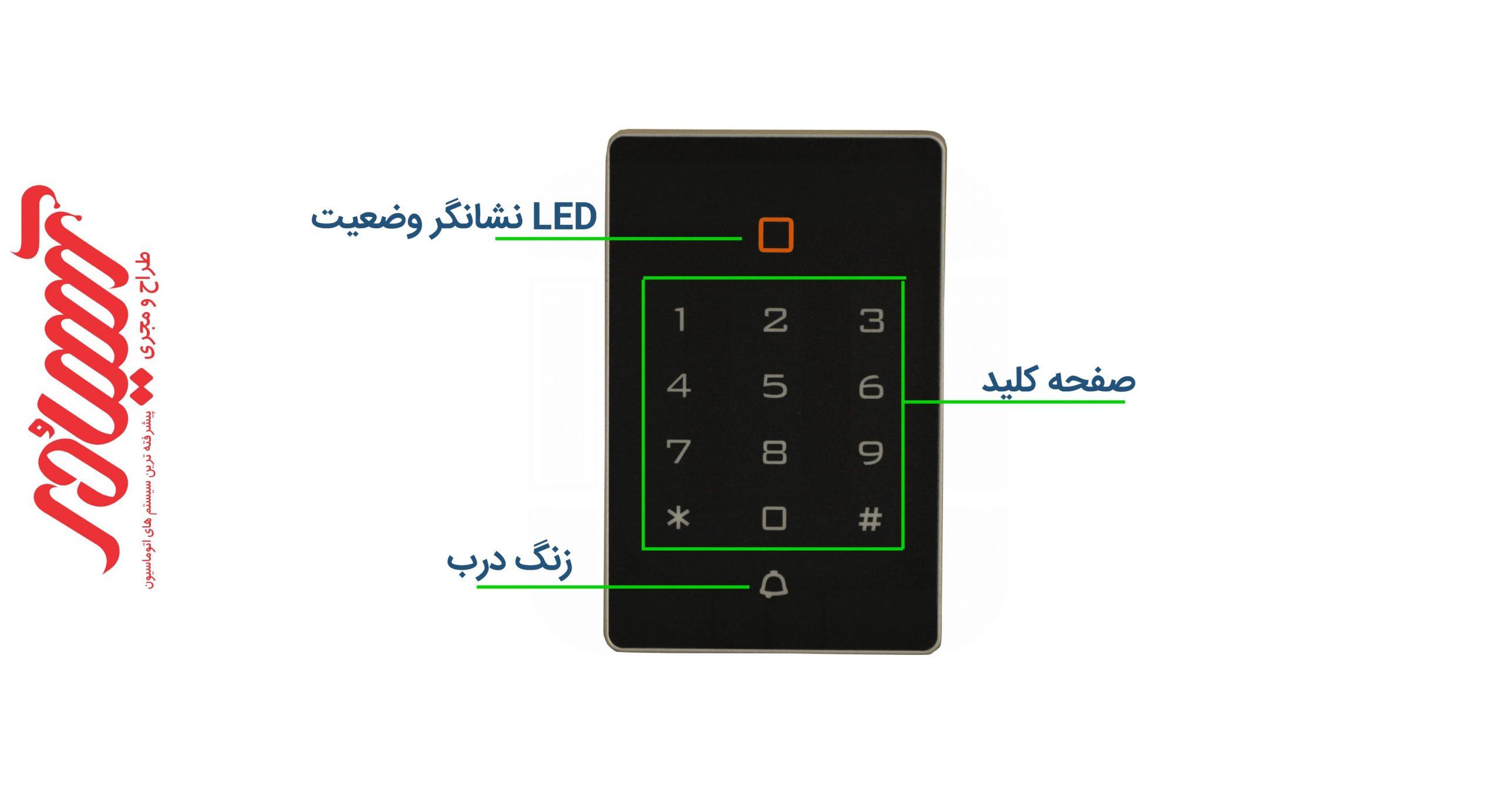 کنترل تردد HMT-ST68