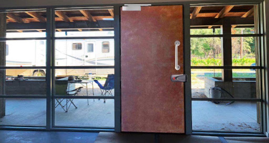 آرام بند سه سرعته درب مناسب قفل برقی